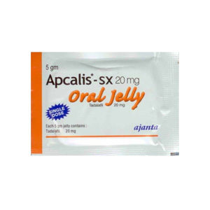 Apcalis SX Oral Jelly - köpa Tadalafil i onlinebutiken | Pris