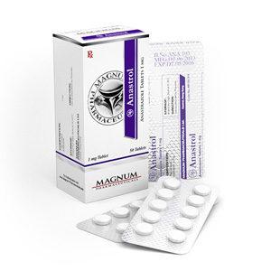 Magnum Anastrol - köpa anastrozol i onlinebutiken | Pris