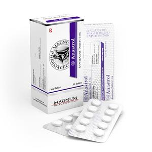 Magnum Anastrol - köpa anastrozol i onlinebutiken   Pris