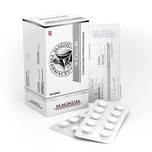 Magnum Clen-40 - köpa Clenbuterolhydroklorid (Clen) i onlinebutiken | Pris