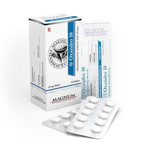 Magnum Oxandro 10 - köpa Oxandrolon (Anavar) i onlinebutiken | Pris