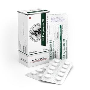Magnum Oxymeth 50 - köpa Oxymetolon (Anadrol) i onlinebutiken | Pris