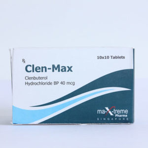 Clen-Max - köpa Clenbuterolhydroklorid (Clen) i onlinebutiken | Pris