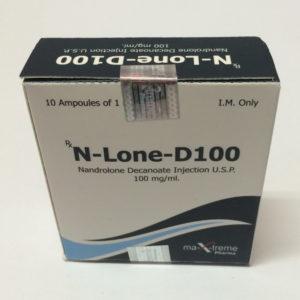 N-Lone-D 100 - köpa Nandrolon dekanoat (Deca) i onlinebutiken | Pris