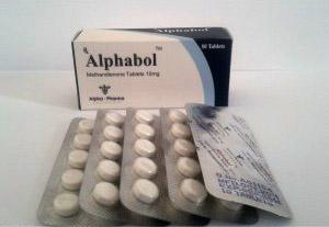 Alphabol - köpa Metandienon oral (Dianabol) i onlinebutiken | Pris