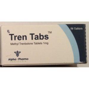 Tren Tabs - köpa Metyltrienolon (metyl trenbolon) i onlinebutiken | Pris