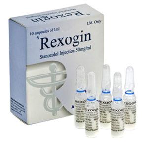 Rexogin - köpa Stanozolol injektion (Winstrol depå) i onlinebutiken | Pris